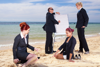 Meeting, bedrijfsfeest of teambuilding